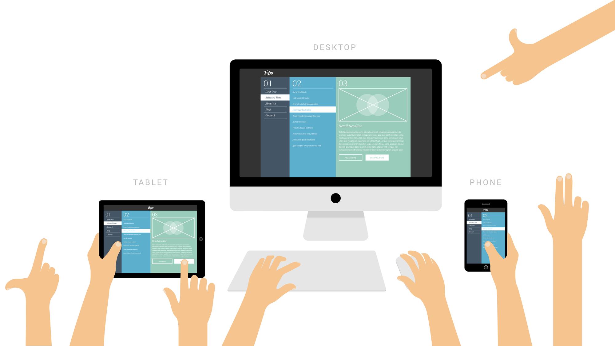 The Impact website concept